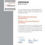 Zertifikat Best of Mittelstand